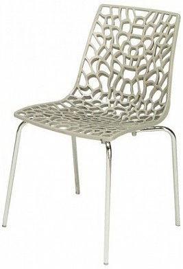 Jídelní židle Groove Polypropylen grigio