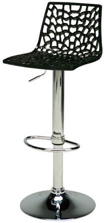 Barová židle Spider Nero