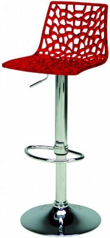 Barová židle Spider Polypropylen bordo