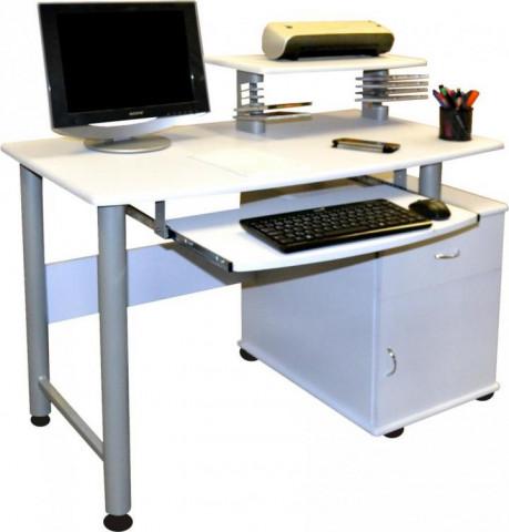 PC stůl 2631 bílý
