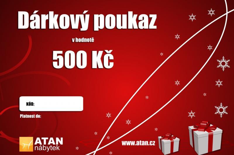 Vánoční dárkový poukaz v hodnotě 500 Kč