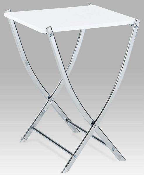 Autronic Sklápěcí stolek 84200-03 WT