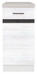 Kuchyňská skříňka Junona Line D1D/40/82-P - Modřín sibiu světlý