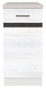 Kuchyňská skříňka Junona Line D1D/40/82-L - Modřín sibiu světlý