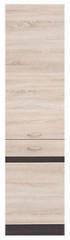 Kuchyňská skříňka Junona Line D2D/50/195-P - Dub sonoma/wenge
