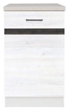 Kuchyňská skříňka Junona Line D1D/50/82-L - Modřín sibiu světlý