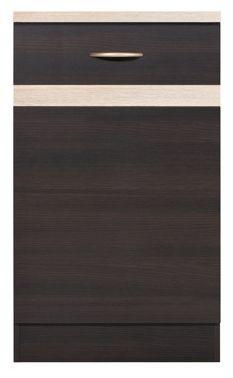 BRW Kuchyňská skříňka Junona Line D1D/50/82-P Dub sonoma/wenge (obr. 2) + kupón KONDELA10 na okamžitou slevu 10% (kupón uplatníte v košíku)
