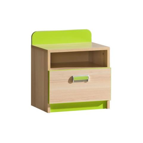 Noční stolek EGO L12 - zelená