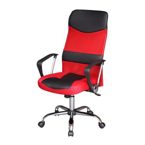 Kancelářská židle TC3-973M - černo-červená