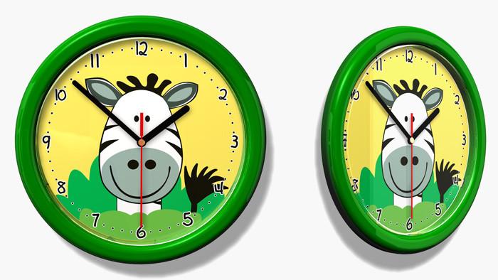 Forclaire Dětské hodiny č. 33 Zebra
