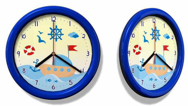 Dětské hodiny námořník