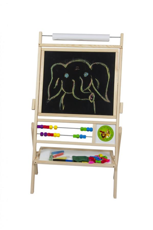 Forclaire Dětská magnetická tabule přírodní