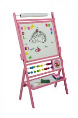 Dětská magnetická tabule rúžová