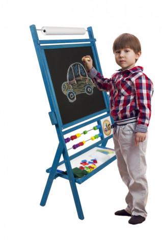 Dětská magnetická tabule modrá