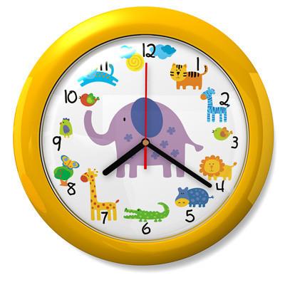 Dětské hodiny Safari 44 žluté