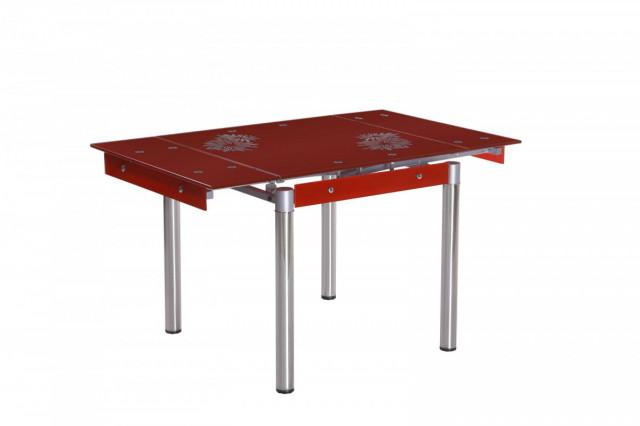 Jídelní stůl FAL-082 červený