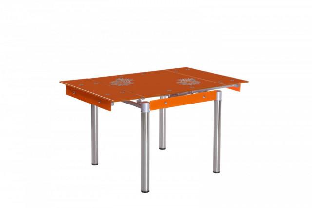 Jídelní stůl FAL-082 oranžový