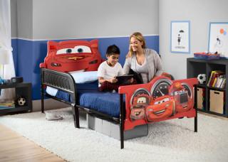 Plastová 3D postel Auta