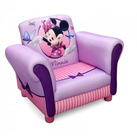 Disney dětské čalouněné křesílko Minnie Mouse