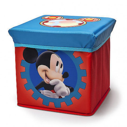 Dětský taburet s úložným prostorem Mickey I