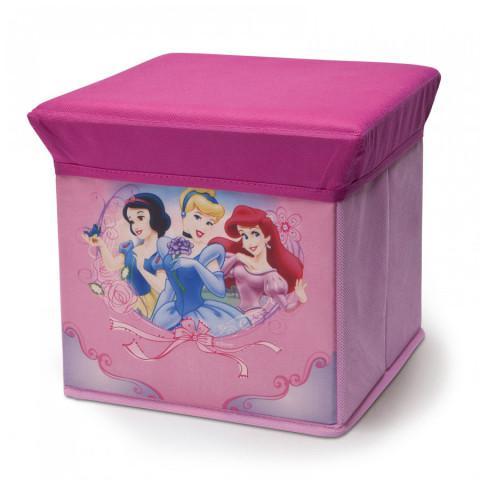 Dětský taburet s úložným prostorem Princess