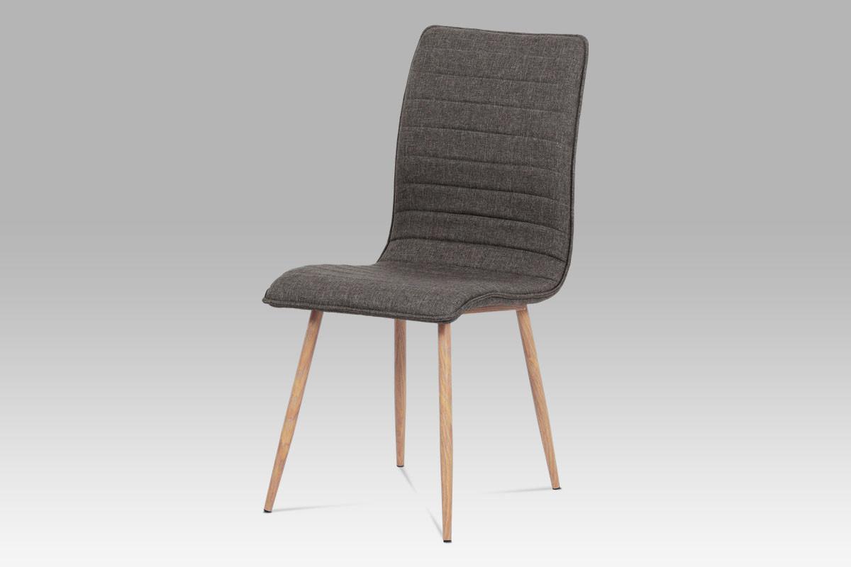 Autronic Jídelní židle HC-368 COF2 - coffee látka