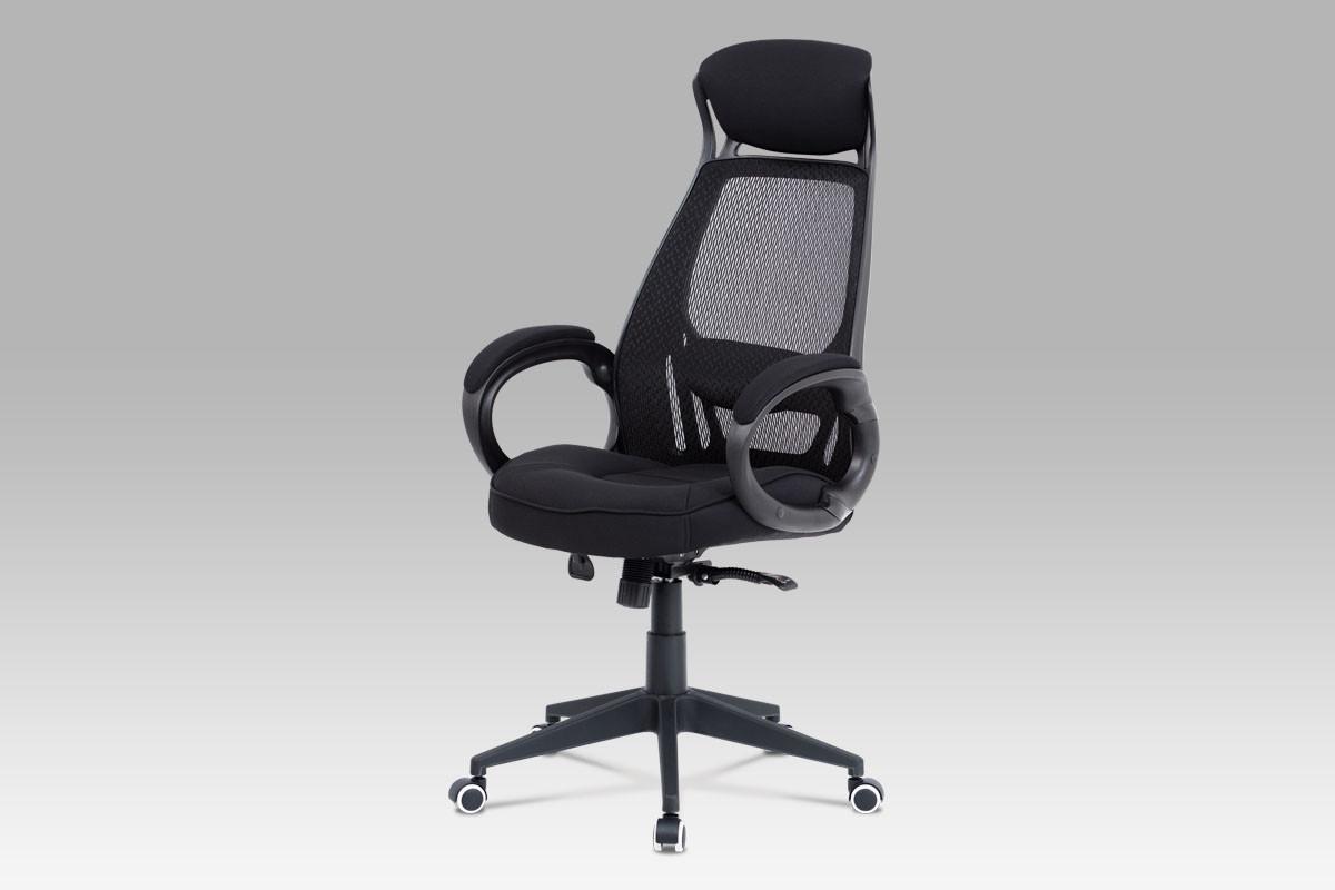 Autronic Kancelářská židle KA-G109 RED - červená mesh/černá látka