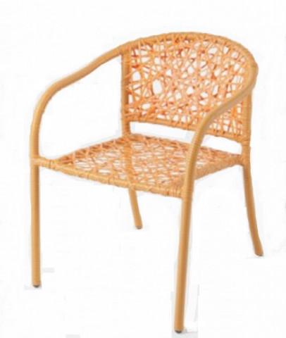 Zahradní židle NEST - oranžová