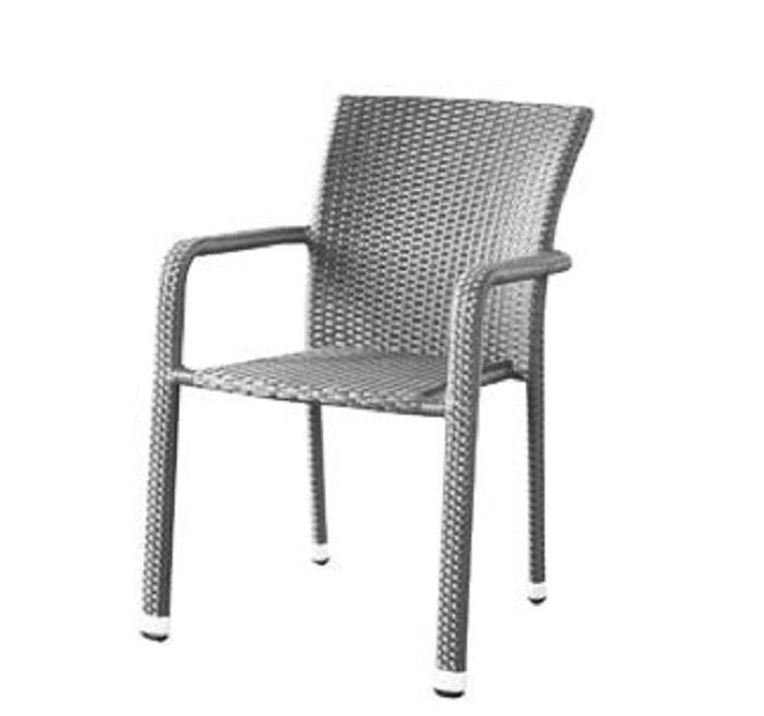 Dimenza Pohodlné zahradní křeslo BARCELONA - šedé