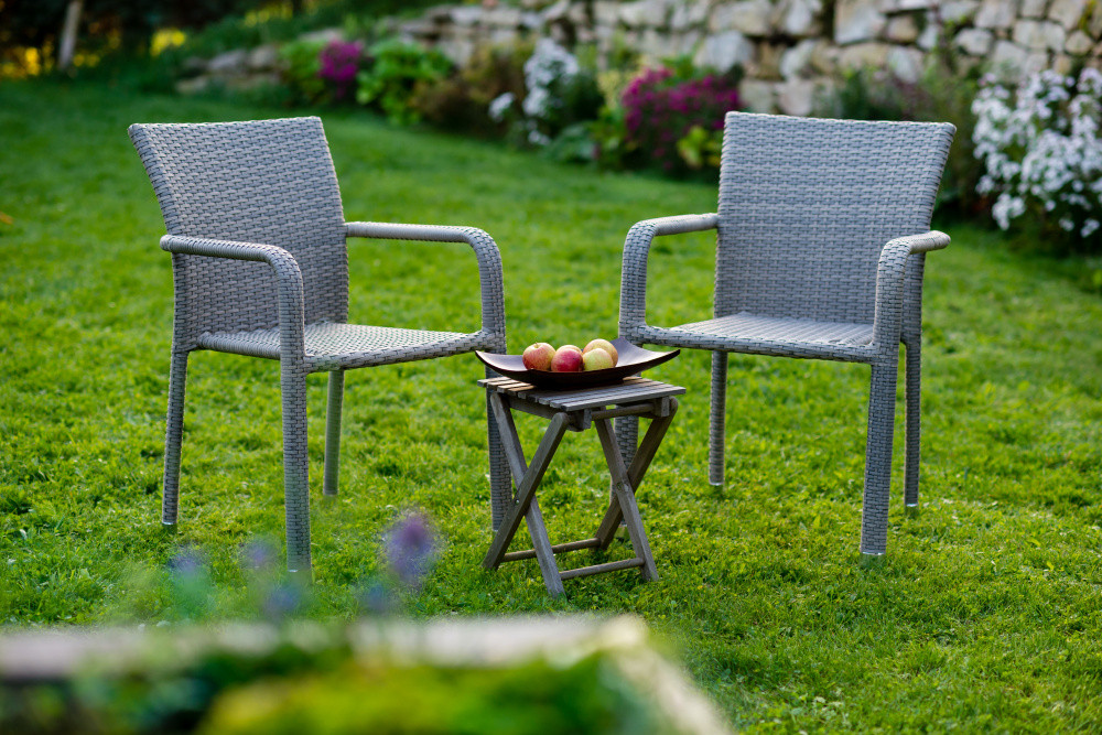 Dimenza Zahradní designový set BARCELONA - šedý