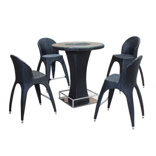 Dimenza Barový stůl TORNEO - černý