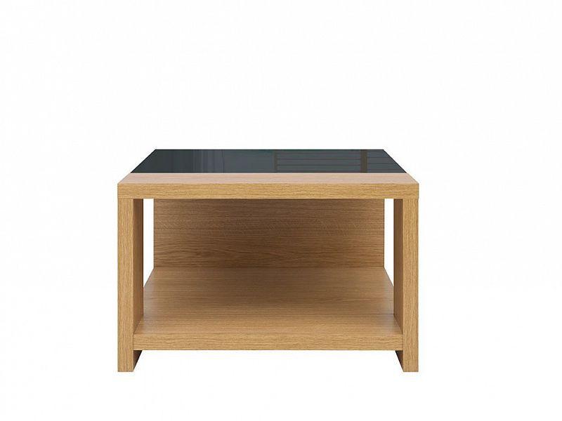 Konferenční stolek Arosa - Dub baltic/Černý lesk
