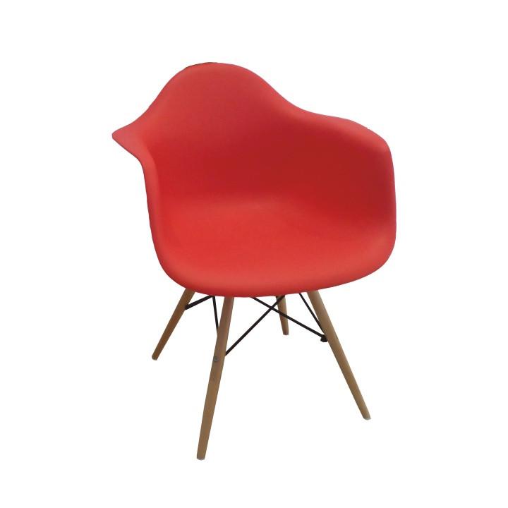 Tempo Kondela Jídelní židle DAMEN - červená + kupón KONDELA10 na okamžitou slevu 3% (kupón uplatníte v košíku)