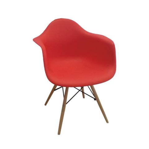 Jídelní židle DAMEN - červená