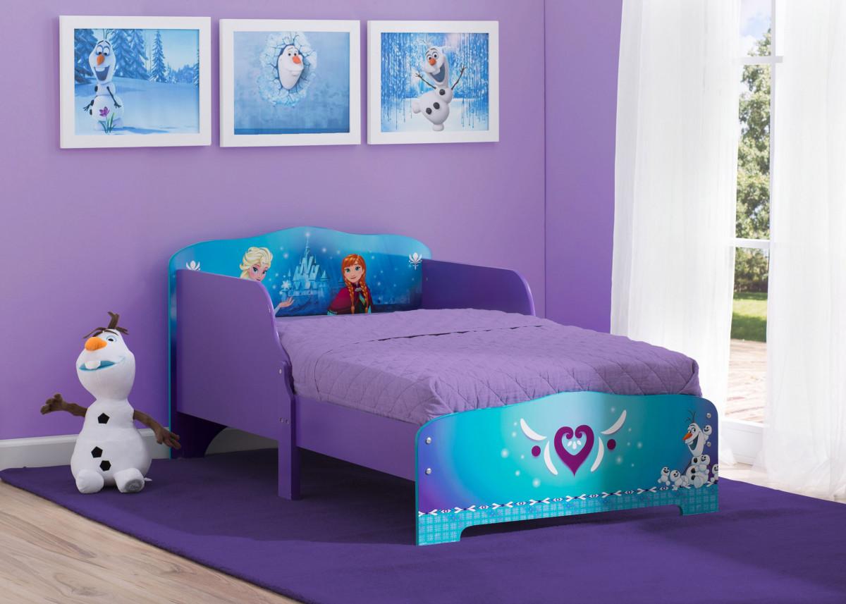 Forclaire Dětská dřevěná postel Frozen