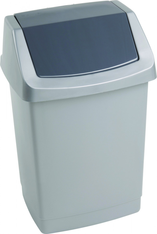 Curver Odpadkový koš CLICK 1,5L - šedý