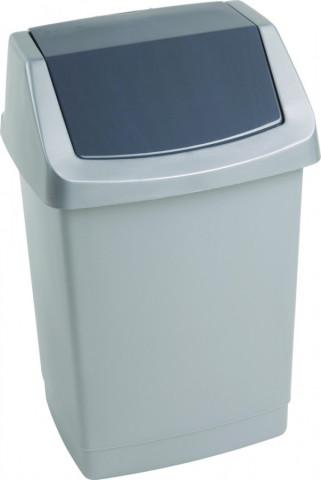 Odpadkový koš CLICK 1,5L - šedý