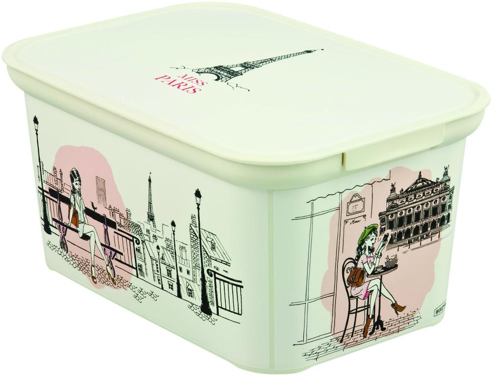 Curver Box DECOBOX - S - Miss PARIS