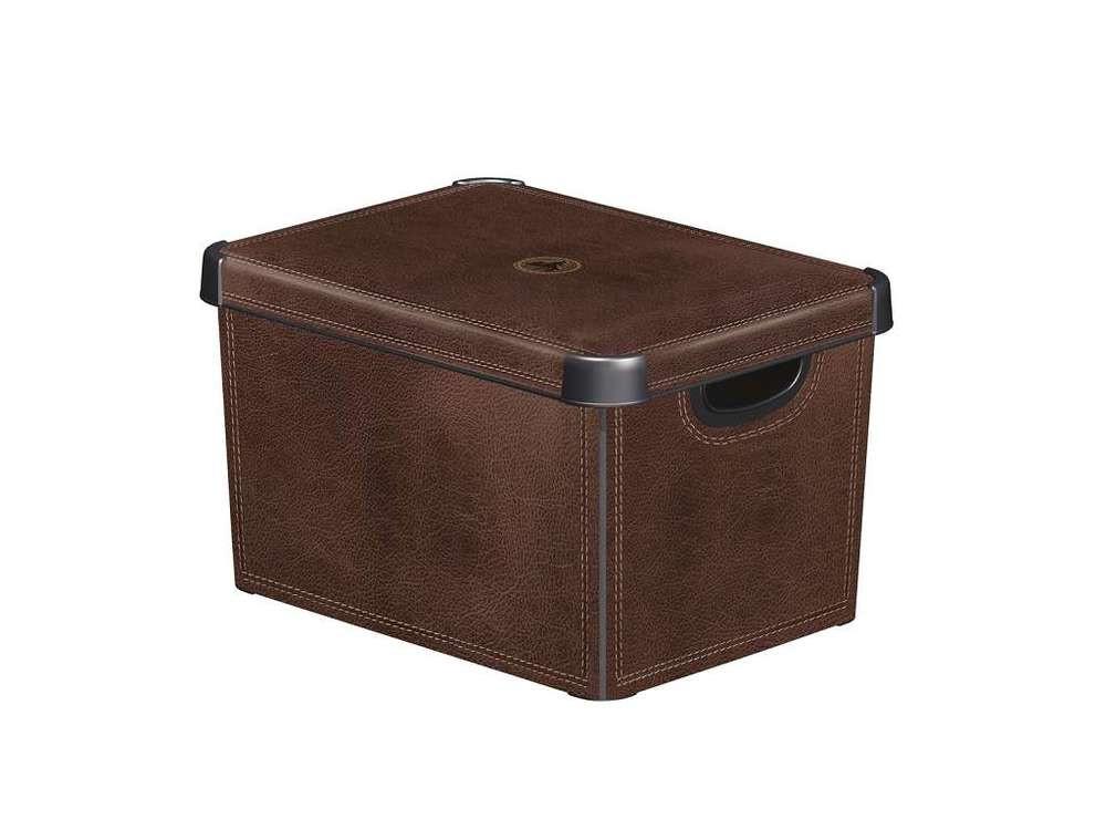 Curver Box DECOBOX - L - LEATHER