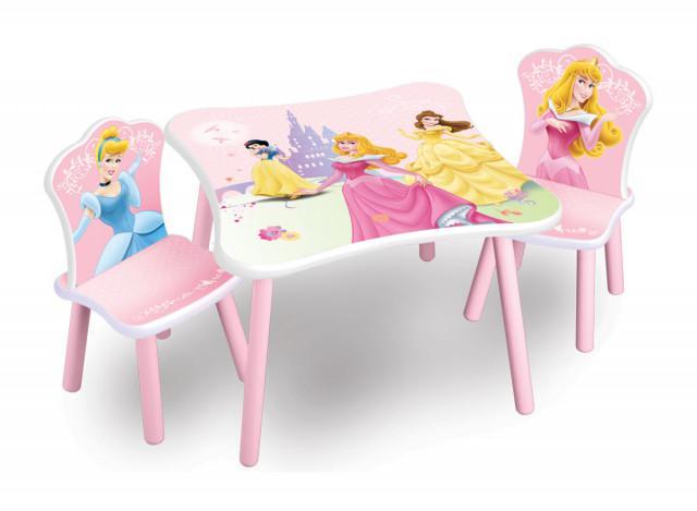 Dětský dřevěný stůl Princess II