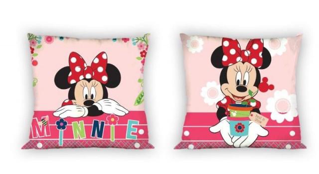 Povlak na polštář bavlněný Minnie Mouse 018