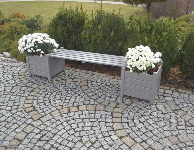 Květináč lavice