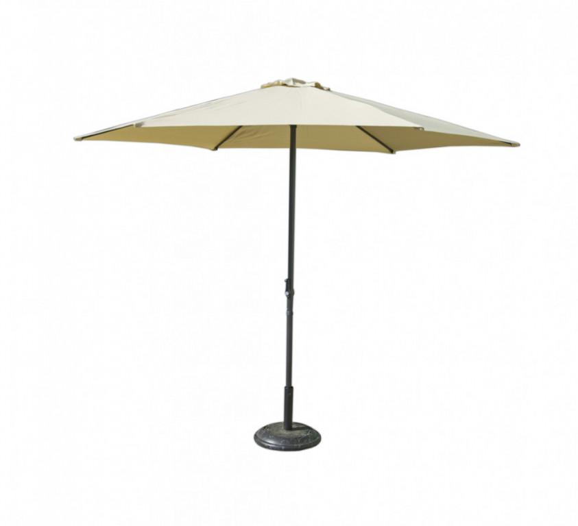Slunečník 8120 - pr. 270cm - béžový - II. jakost