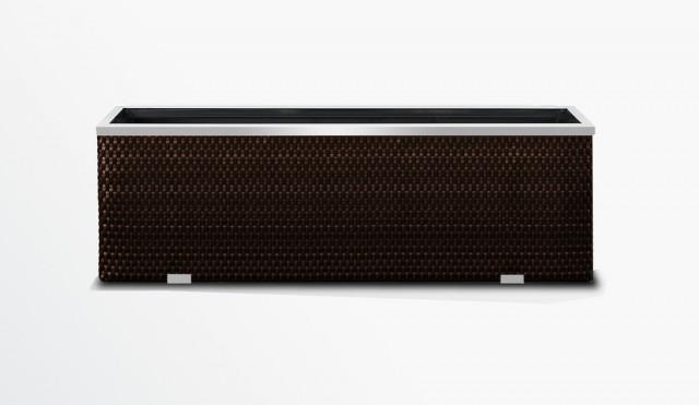 Květináč RATAN - 98x25x34cm