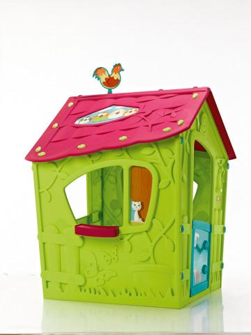 Dětský domeček MAGIC PLAY HOUSE - zelený