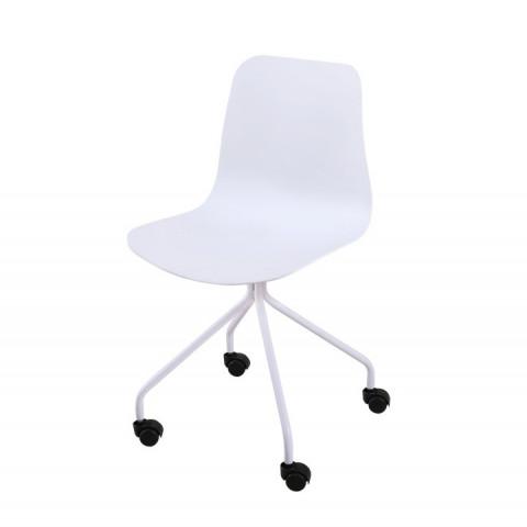 Židle DANELA - bílá