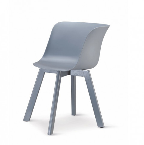 Židle LEVIN - šedá + šedá