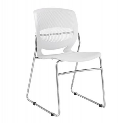 Konferenční židle IMENA - bílá