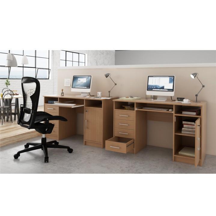 Tempo Kondela PC stolek B9 NEW - buk + kupón KONDELA10 na okamžitou slevu 3% (kupón uplatníte v košíku)