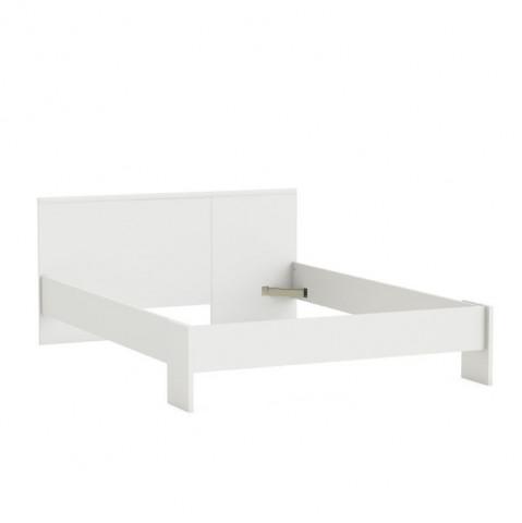 Postel, 140x200, bílá, ambian